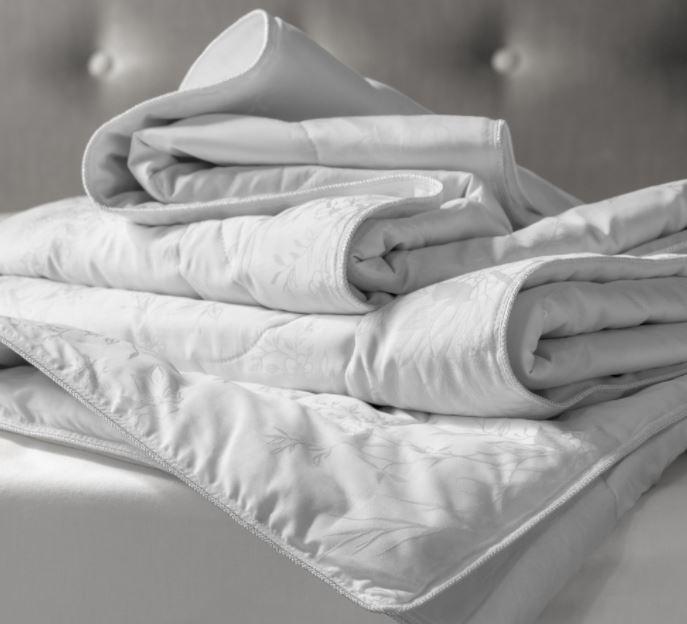 одеяло с шелковым наполнителем